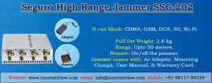 Adjustable Mobile Jammer