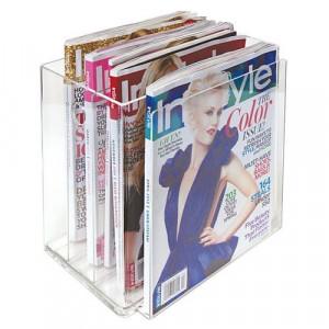 Acrylic Clear Magazine Holder