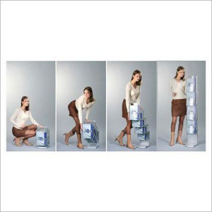 Acrylic Folding brochure stands