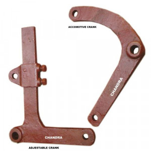 Accomotive and Adjustable Crank