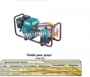 Agriculture Portable Power Sprayer with 30kg Weight