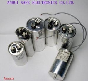 AC Motor Capacitor CBB65 For Air Conditioner