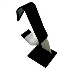 Acrylic Black elegant wrist watch stand