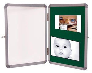 Notice/Pin-Up Board With Acrylic Shutter