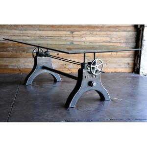 Crank Adjustable Table