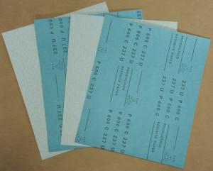 Zinc Stearate Abrasive Paper