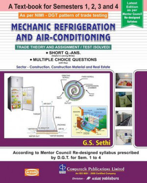Mechanic Refrigeration And Air Conditioning Sem 1