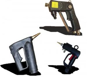 Adhesive Hand-Guns