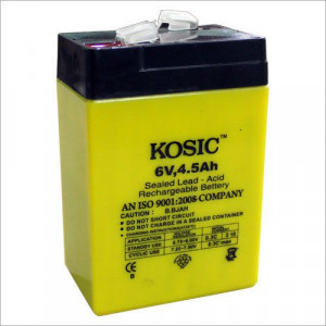 6 Volt 4.5 Ah Battery