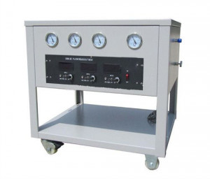 3 Gas Channels Gas Mixing Proton Flow Controller System MFC