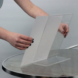 Acrylic Table Top Stands