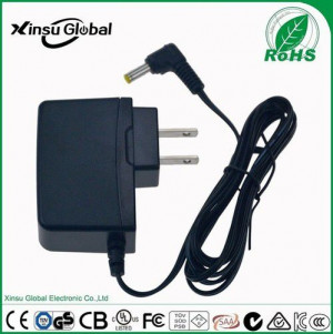 10V 1.5A AC DC Adapter with US AU EU UK plug