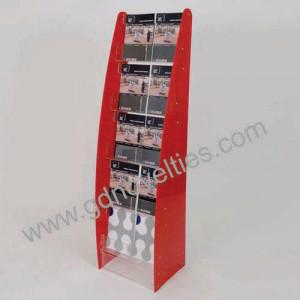 Acrylic multi pocket Brochure holder
