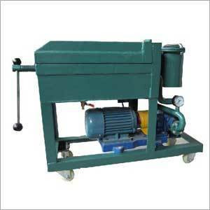 Sheet Frame Oil Purification Systems