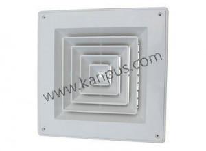 Square air diffuser (air grille, air conditioner parts, HVAC/R parts)