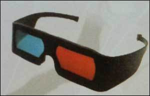 3D Black Frame Glasses