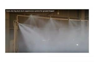 Dry Fog Dust Suppression for Ground Hopper