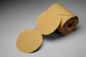 Gold Paper Disc Roll