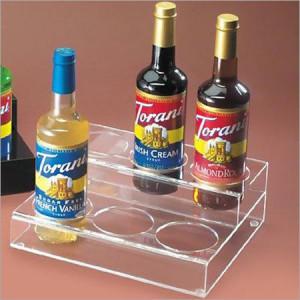 Arylic liquor displays