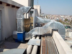 Air Cooler Ducting