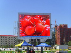 High Definition SMD P12 Outdoor Advertising LED Display Screen For Live Broadcast