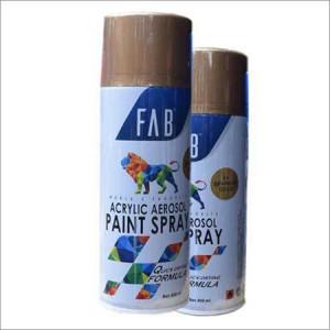 Gold Acrylic Aerosol Paint Spray