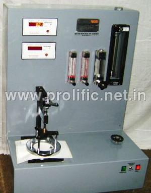 Fabrics Air Permeability Tester