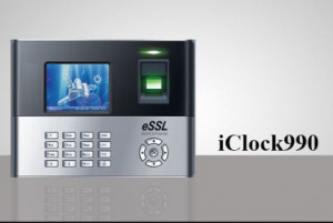 I CLOCK 990 Fingerprint Time Attendance & Access Control System