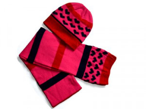 100% Acrylic Winter Knitted Scarf