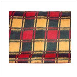 Acrylic Check Blankets