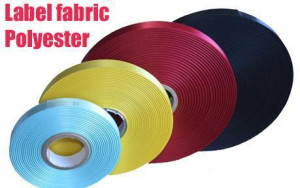 Acetate Taffeta And Tear Away Label Fabric