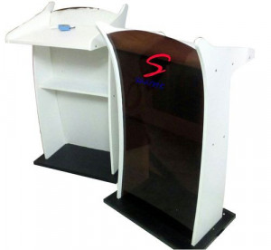 Stylish Wooden And Acrylic Podium SP-510