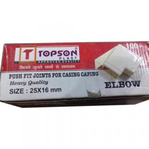 Push Fitting Casing Caping Elbow