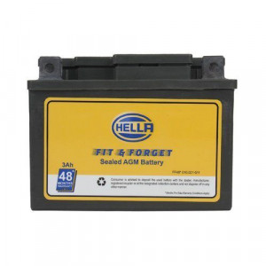 Hella FF48 010.021-511 HELTZ4L Fit N Forget 3AH Motorbike Battery