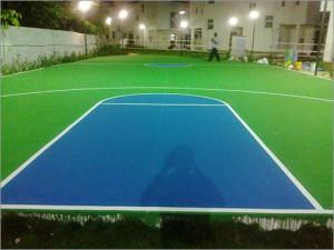 Navloor Chennai Basketball Court Acrylic Paint