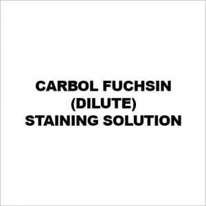 Carbol Fuchsin (Dilute) Staining Solution