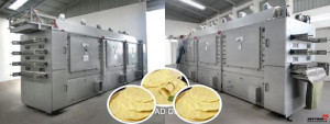 Drying Plant For PAPAD
