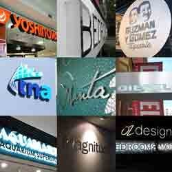 Acrylic Display Letters
