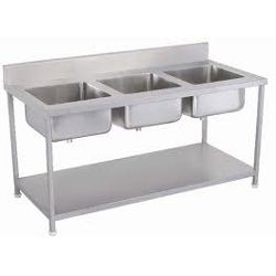 Three Unit Sink