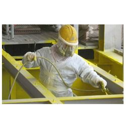 Defence And Engineering Airless Spray Painting Service