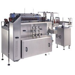 Linear Bottle Airjet Cleaning Machine