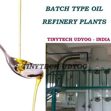 Batch Type Oil Refinery Plant