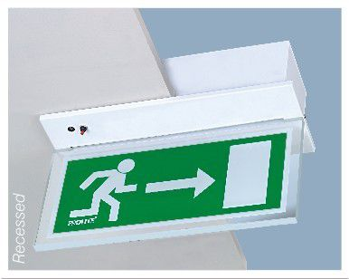 Emergency Exit Light (Recessed)