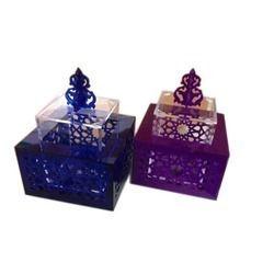 Durable Acrylic Chocolate Boxes