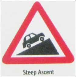 Steep Accent Sign
