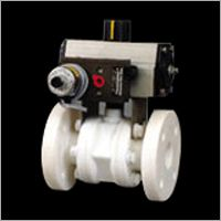 Industrial Actuated Valve