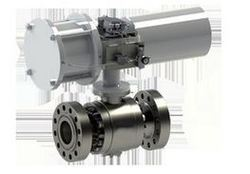 Fine Finish Actuated Ball Valve