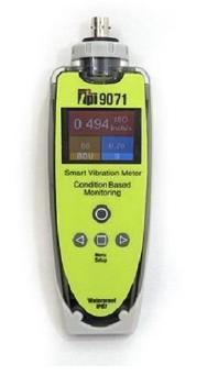 9071 Vibration Meter with External Accelerometer