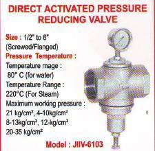 DIRECT ACTIVATED PRESSURE REDUCING VALVE