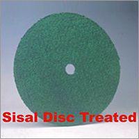 Sisal Disc Treated Buff